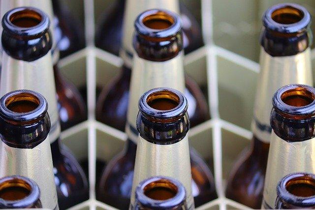 Butelki po piwie