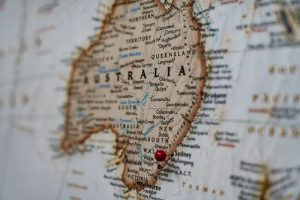 Mapa kartograficzna Australii